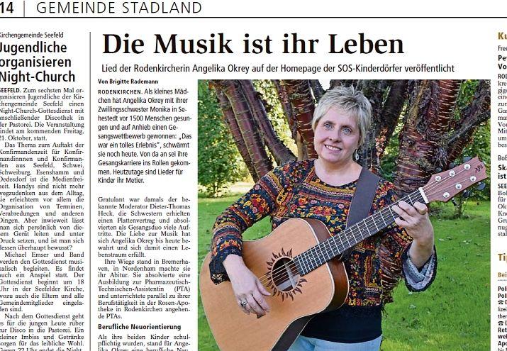 Kreiszeitung Wesermarsch 18 10 2016